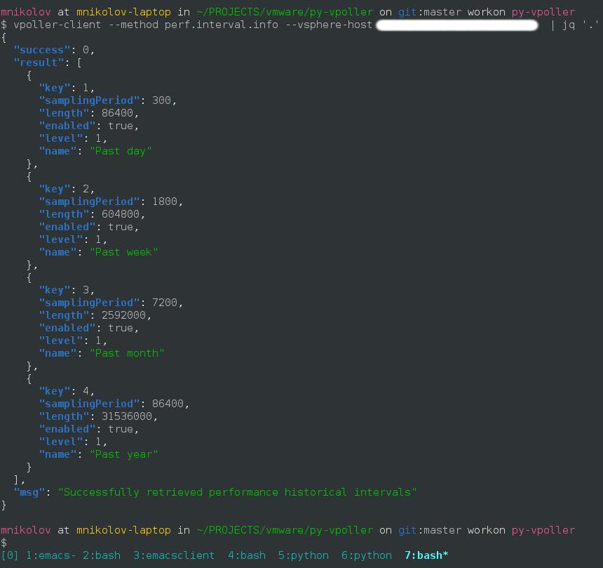 Example usage of vPoller — vPoller 0 7 1 documentation